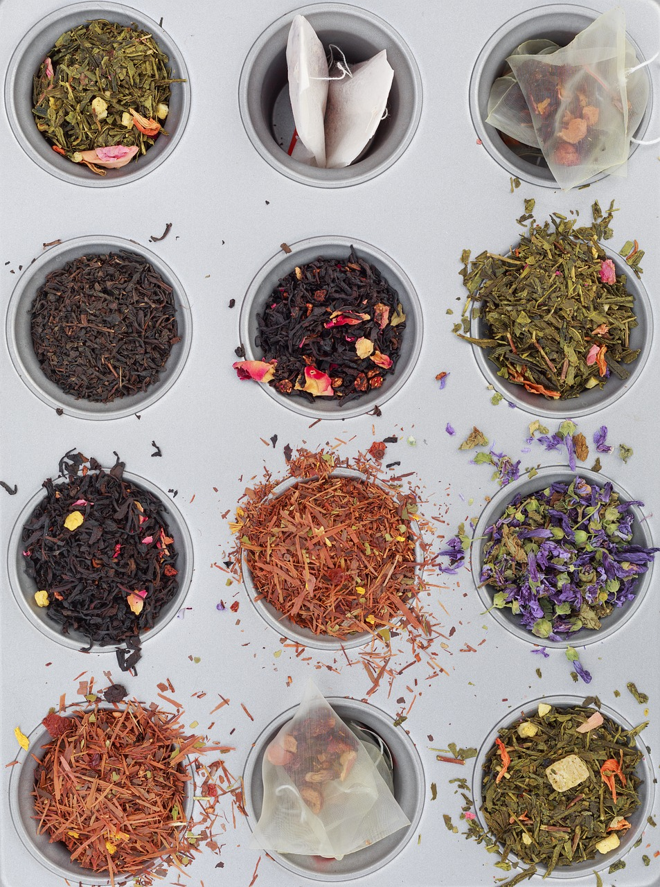 Tee-Sorten