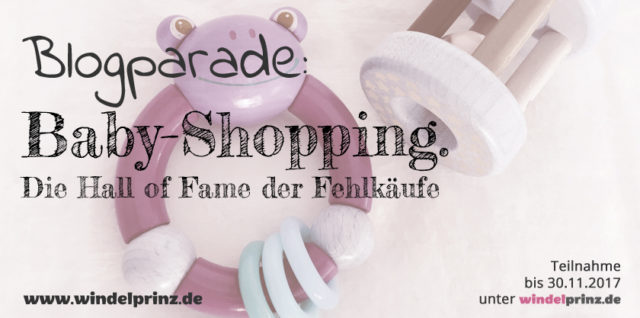 Bloparade: Baby-Shopping