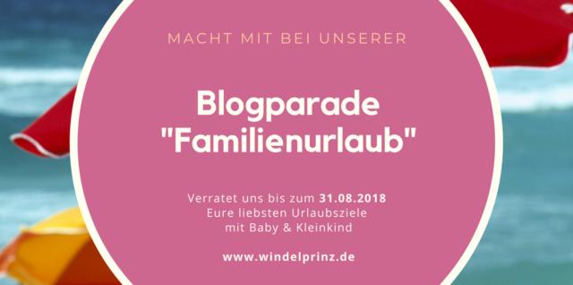 Blogparade Familienurlaub