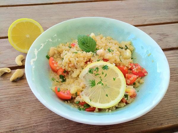 Zitronen-Quinoa