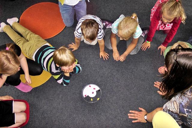 Kindergarten-Gruppe