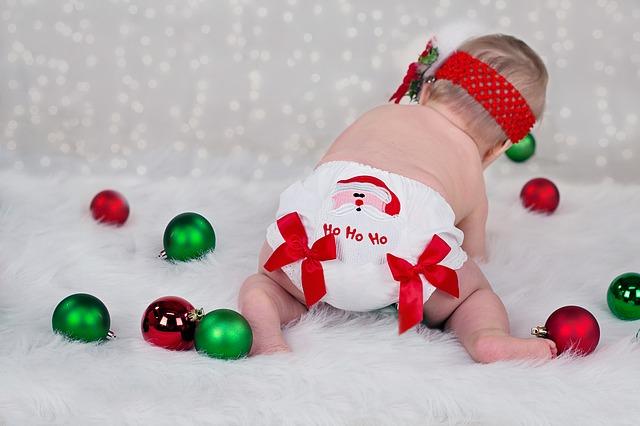 Baby's erste Weihnacht
