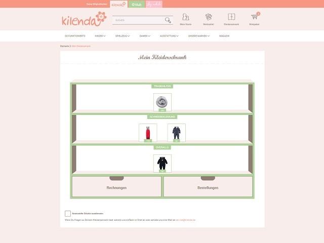 Virtueller Kleiderschrank