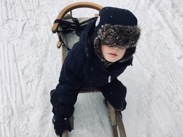Schneekleidung