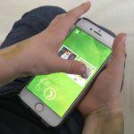 Lernspiel-App Handy