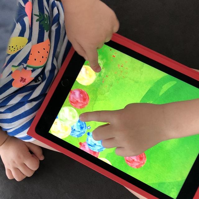 Lernspiel-App für Kinder