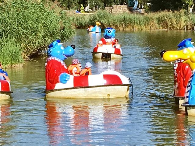 Käpt'n Blaubär Spaßboote