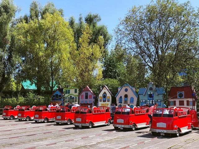 Feuerwehrspiel im Spieleland