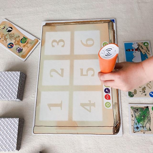tiptoi - Kreative Bildergeschichten - Spielplan