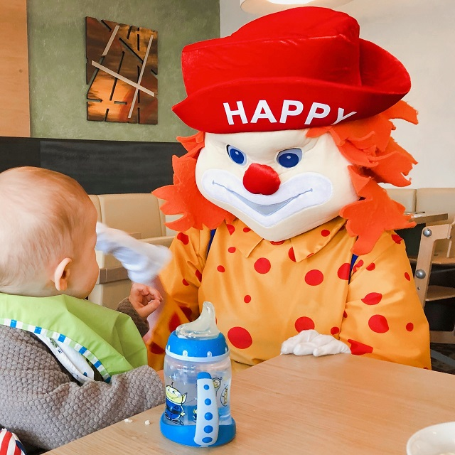 Happy-Clown im Aigo