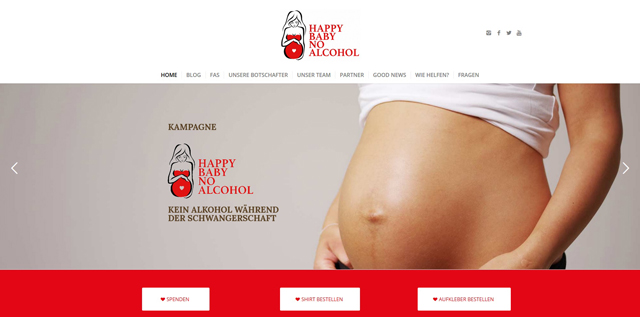 happy baby no alcohol - homepage