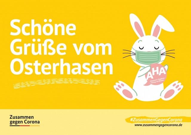 Schoene-Gruesse-vom-Osterhasen-Zusammen-Gegen-Corona