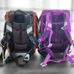 Scout Genius und Sunny II - Rückenpolster & Tragesystem