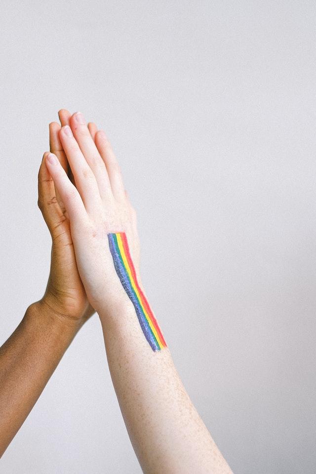 LGBTQ-Paar