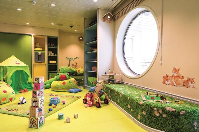 Nest - Baby-Raum auf der Mein Schiff 1
